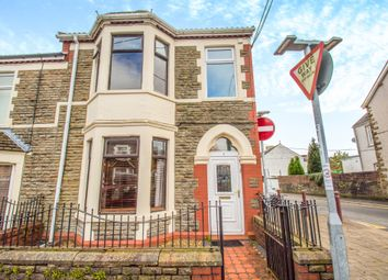 Thumbnail 3 bed end terrace house for sale in Bradford Street, Caerphilly