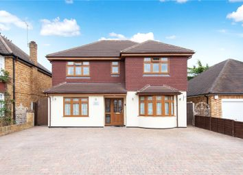 Thumbnail 5 bed detached house for sale in Holland Gardens, Egham, Surrey