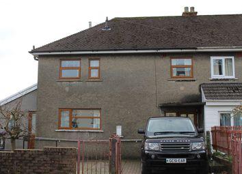 Thumbnail 3 bedroom semi-detached house for sale in Mount Road, Trevethin, Pontypool