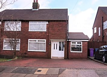 Thumbnail 3 bed semi-detached house for sale in Millcroft Road, Liverpool