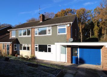 Thumbnail 3 bed semi-detached house for sale in The Crescent, Mortimer Common