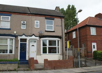 Thumbnail 1 bed end terrace house to rent in Lambton Road, Durham Road, Stockton