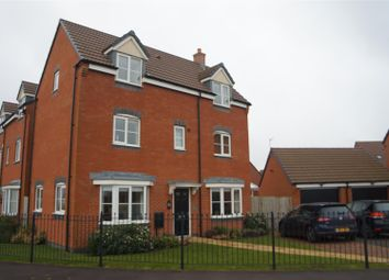 Thumbnail 4 bed detached house for sale in Birstall Meadow Road, Birstall, Leicester