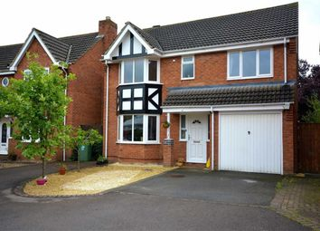 Thumbnail 4 bed detached house for sale in Pochard Close, Quedgeley, Gloucester