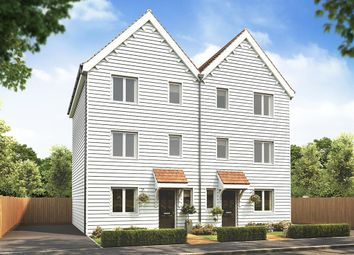"Thumbnail 4 bed semi-detached house for sale in ""The Wolvesey "" at Plover Road, Stanway, Colchester"
