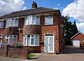 Thumbnail 3 bedroom semi-detached house for sale in Dorset Close, Ipswich