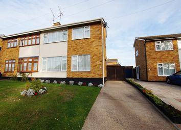 Thumbnail 3 bed semi-detached house for sale in The Chase, Rayleigh
