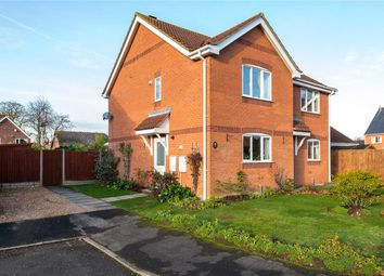 Thumbnail 2 bedroom semi-detached house for sale in Bellview Road, Ruskington, Sleaford, Lincolnshire