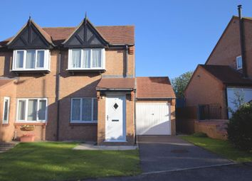 Thumbnail 2 bed semi-detached house for sale in Wash Beck Close, Scarborough, North Yorkshire