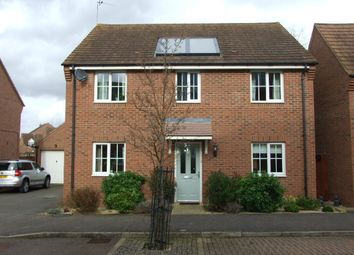 Thumbnail 4 bedroom detached house for sale in Cable Crescent, Woburn Sands