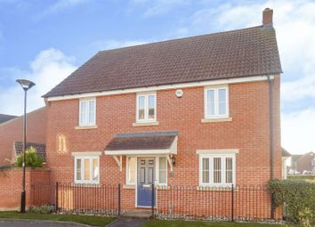 Thumbnail 4 bed detached house for sale in Kingdom Crescent, Blunsdon, Swindon