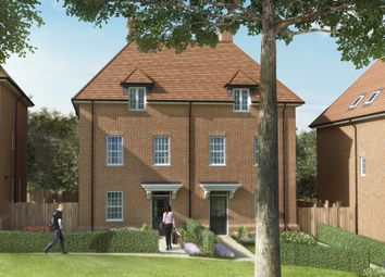 "Thumbnail 4 bed semi-detached house for sale in ""Ducher"" at Elmbank Avenue, Arkley, Barnet"
