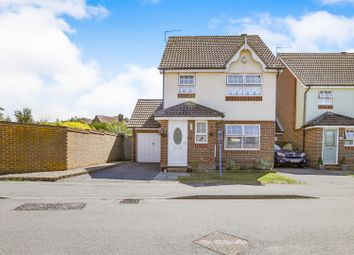 Thumbnail 3 bed link-detached house for sale in The Oaks, Burgess Hill