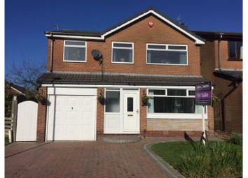 Thumbnail 4 bed detached house for sale in Evesham Grove, Ashton-Under-Lyne