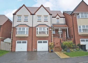Thumbnail 4 bed detached house for sale in Stunning Executive House, Hazel Tree Grove, Newport