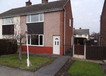 Thumbnail 2 bed semi-detached house to rent in Rye Crescent, Danesmoor, Chesterfield, Derbyshire