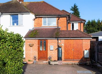 Thumbnail 4 bed semi-detached house for sale in Maple Rise, Marlow, Buckinghamshire