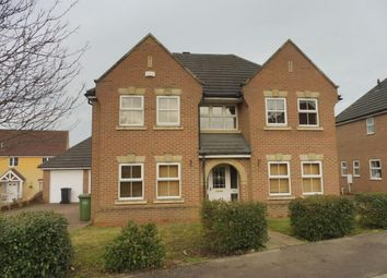 Thumbnail 4 bedroom detached house to rent in Rosemary Way, Downham Market