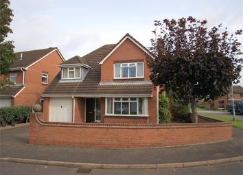 Thumbnail 4 bed detached house for sale in Turnbury Close, Branston, Burton-On-Trent, Staffordshire