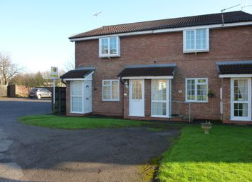 Thumbnail 1 bed maisonette to rent in Monarch Close, Stretton, Burton