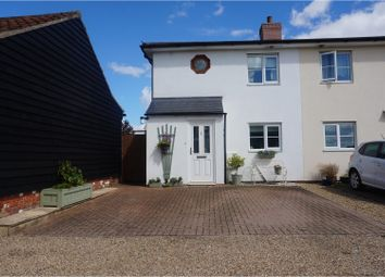Thumbnail 3 bed semi-detached house for sale in Church Road, Stowmarket