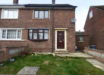 Thumbnail 2 bed semi-detached house to rent in Byrley Road, Kimberworth Park, Rotherham, South Yorkshire