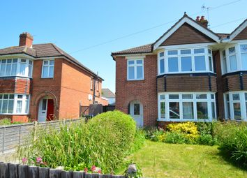 Thumbnail 3 bed semi-detached house to rent in Luccombe Road, Southampton
