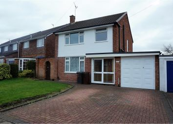 Thumbnail 3 bed detached house for sale in Mill Green, Wolverhampton