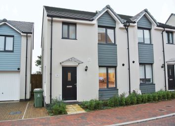 Thumbnail 3 bed semi-detached house for sale in Ravenglass Close, Estover, Plymouth