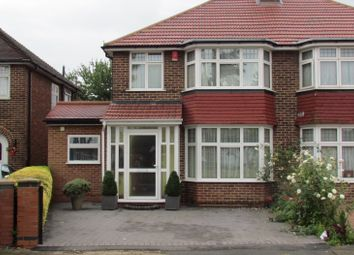 Thumbnail 4 bed semi-detached house for sale in Firs Drive, Cranford