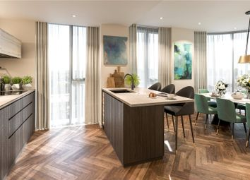 Thumbnail 2 bed flat for sale in King's Road Park, London