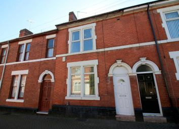 Thumbnail 4 bed terraced house to rent in Wolfa Street, Derby