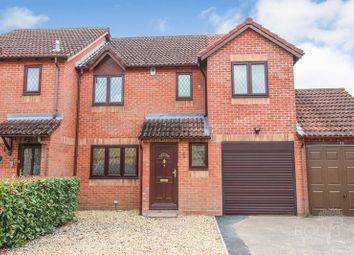 Thumbnail 4 bed end terrace house for sale in John Hunt Close, Thatcham