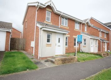 Thumbnail 3 bed semi-detached house for sale in Carlton Moor Crescent, Moorfields, Darlington