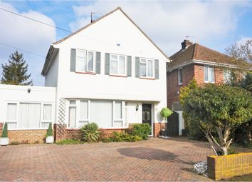 Thumbnail 4 bed detached house for sale in Garden Close, Canterbury