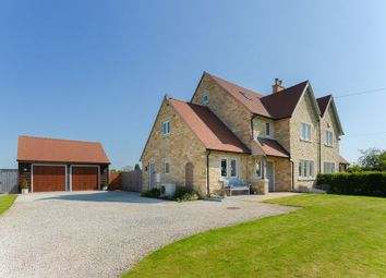 Thumbnail 4 bed semi-detached house for sale in Castle Street, Marsh Gibbon, Bicester
