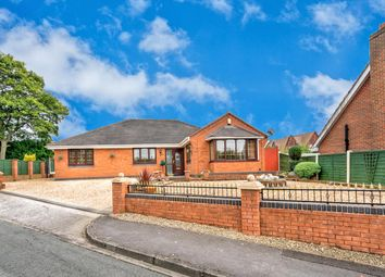 Thumbnail 3 bed detached bungalow for sale in Melbourne Road, Heath Hayes, Cannock