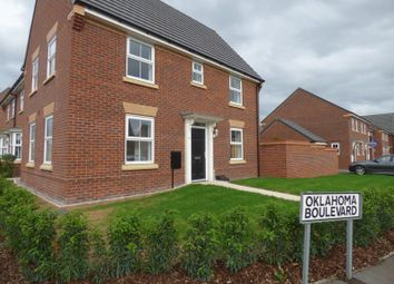 Thumbnail 3 bed link-detached house for sale in Oklahoma Boulevard, Great Sankey, Warrington