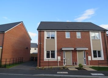 Thumbnail 3 bed semi-detached house for sale in Arnfield Drive, Hilton, Derby