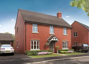 Thumbnail 4 bedroom detached house for sale in Broughton Chase, Crowfoot Way, Broughton Astley, Leicester
