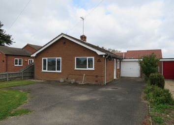 Thumbnail 3 bed detached bungalow for sale in Church Lane, Tydd St. Giles, Wisbech