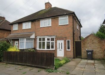 Thumbnail 3 bed semi-detached house to rent in Welbeck Avenue, Leicester