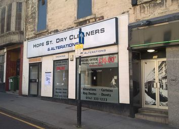 Thumbnail Retail premises for sale in 168 Hope Street, Glasgow