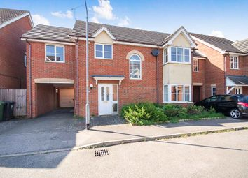 Thumbnail 4 bed link-detached house for sale in Stanford Road, Thetford, Norfolk