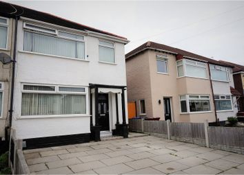 Thumbnail 3 bed semi-detached house for sale in Milton Avenue, Liverpool