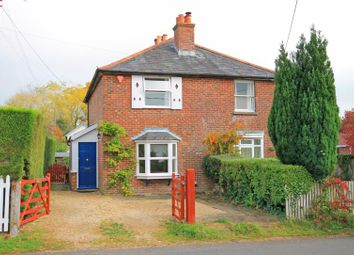 Thumbnail 3 bed semi-detached house to rent in Sway, Lymington