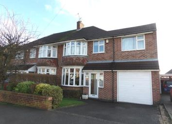 Thumbnail 4 bed semi-detached house for sale in Farndale Drive, Loughborough, Leicester, Leicestershire