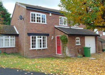 Thumbnail 5 bed detached house to rent in Wheatland Close, Oadby, Leicester