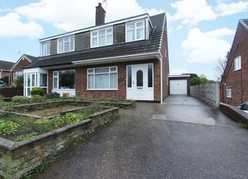 Thumbnail 3 bed semi-detached house for sale in Bramble Lane, Mansfield