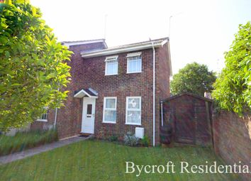Thumbnail 2 bed end terrace house for sale in The Laurels, Hopton, Great Yarmouth